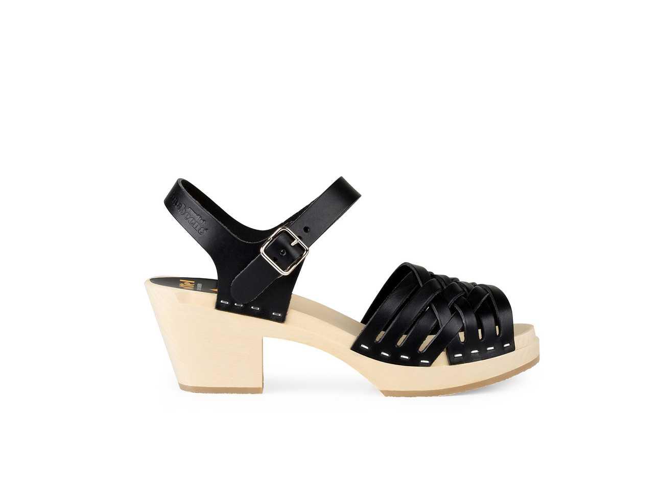 Braided High Black/Nature sole