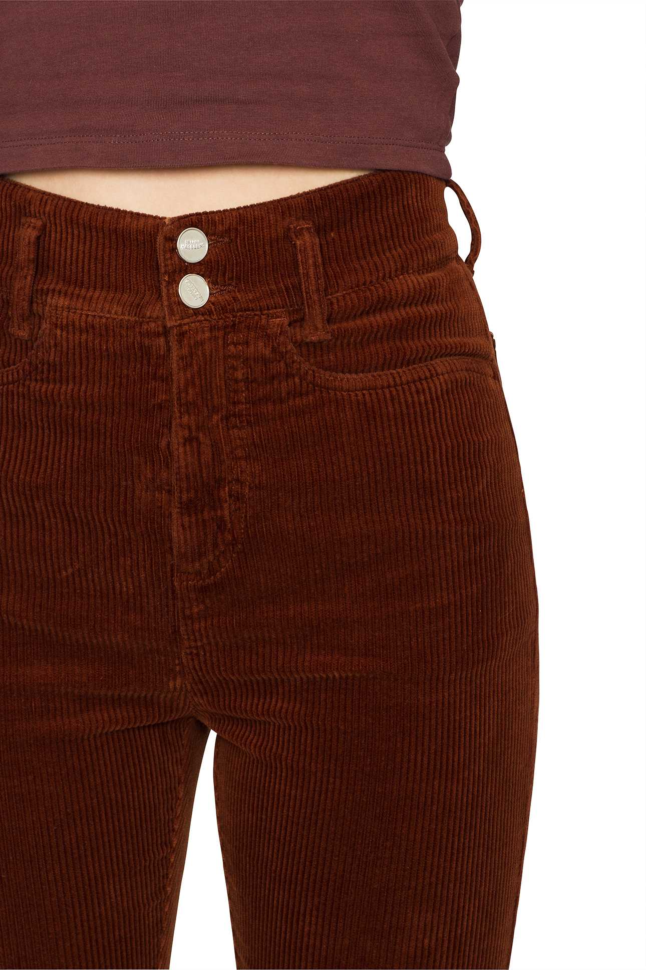 Product image Short Boot Cut Pants Cord
